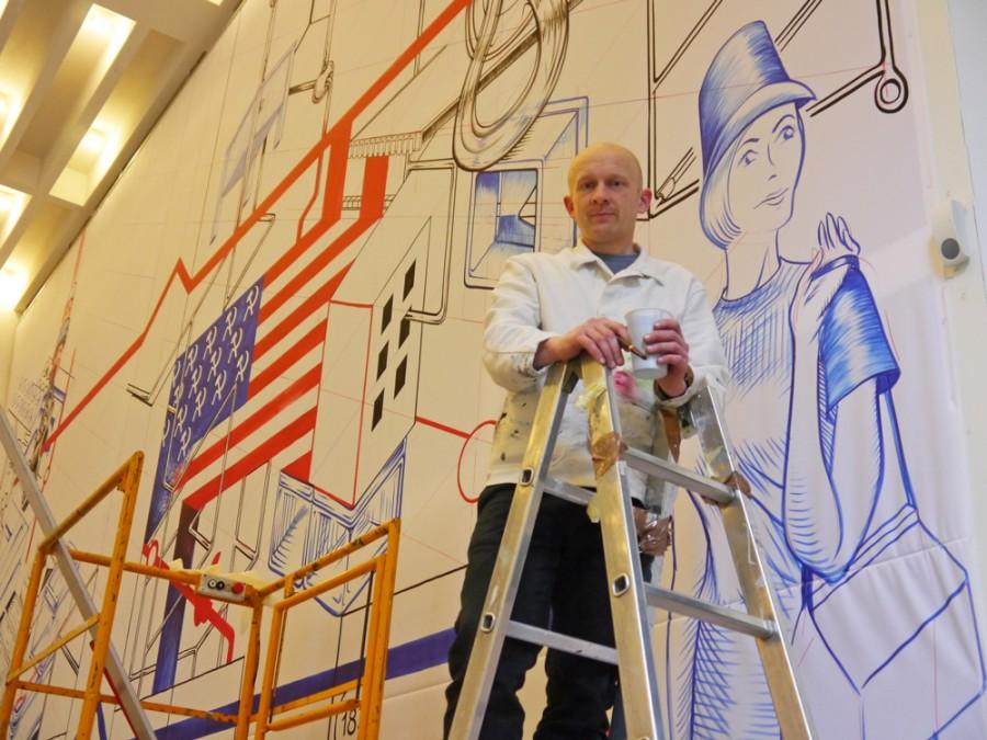 Oliver Scheible, Zeichner aus Köln im MAKK