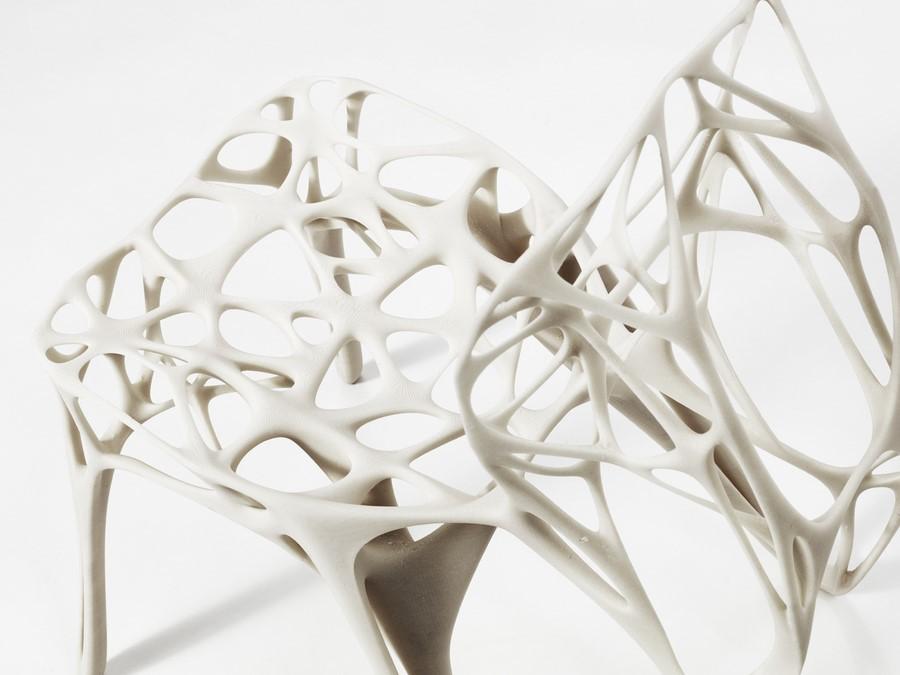 Der STuhl `Generico Chair´ im Detail (Foto: Dirk Schelpmeier)