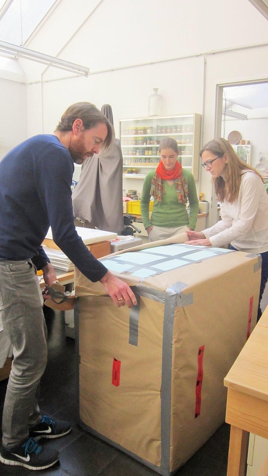 Dr. Romana Breuer und Marco Hemmerling packen aus.