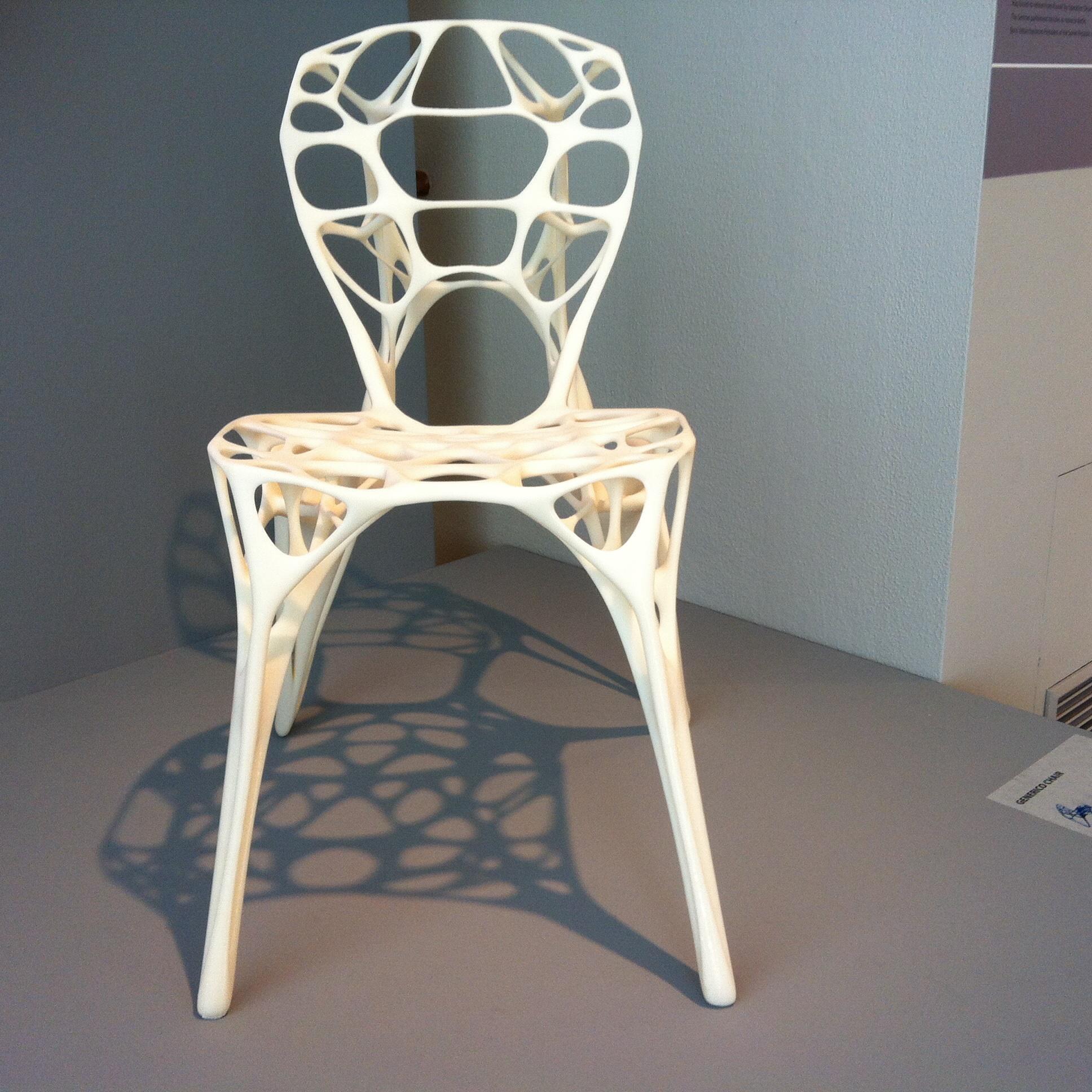 Der `Generico Chair´ von Marco Hemmerling und Ulrich Nether wird individuell angefertigt.