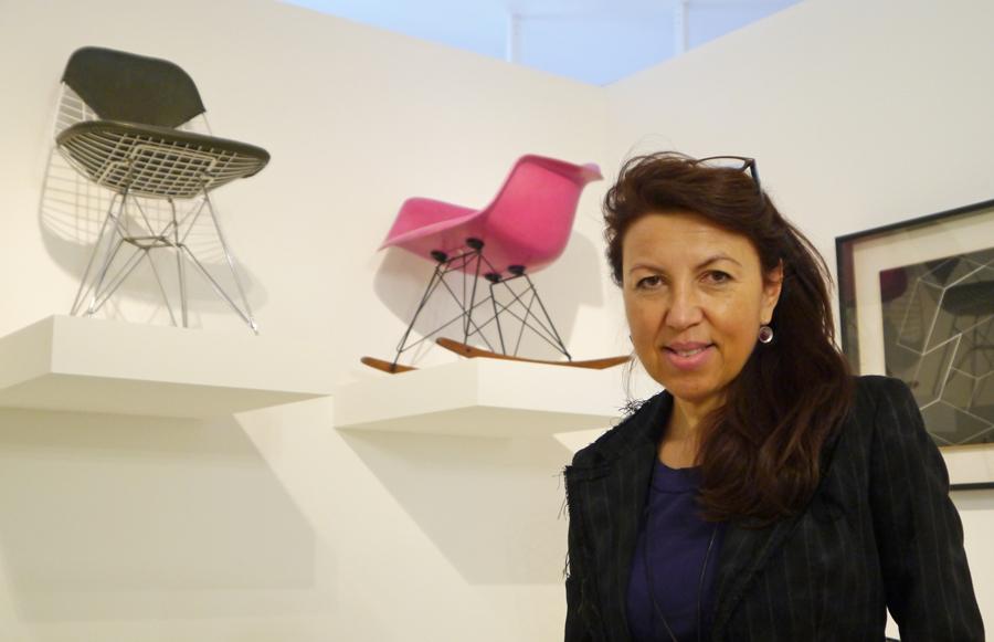 ray und charles eames rocker arm chair der makk design blog. Black Bedroom Furniture Sets. Home Design Ideas